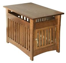 end table with door amish hardwood campton mission pet bed end table lift top coffee table with glass doors