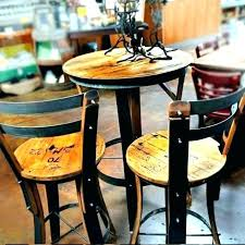 tall outdoor bistro set table sets pub high top target awesome p