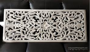 white carved wood wall panel home decor repurposing upcycling on iron and wood panel wall art in white with white carved wood wall panel hometalk