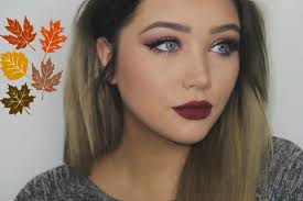 fall eye makeup look