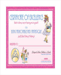 Certificate Of Excellence Template Word Excellence Certificate Template 100 Free Word PDF PSD Format 24