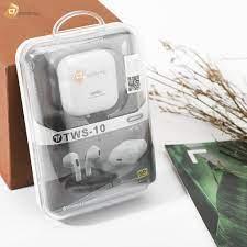 Mã SKAMPUSHA7 giảm 8% đơn 250k]Tai nghe Bluetooth True Wireless Remax TWS-10  - Tai nghe Bluetooth nhét Tai