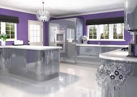 ... Funky Kitchen Ideas Beautiful Kitchen astonishing Awesome Purple White Kitchen  Designs Ideas ...