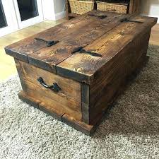 wooden chest storage chest furniture trunk coffee table how to build a trunk coffee table wooden