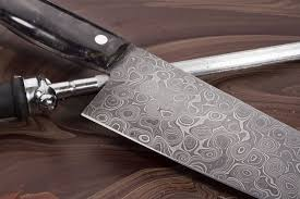 Handmade Damascus Tanto Blade Olive Wood Handle Chef Knife  Top Damascus Kitchen Knives