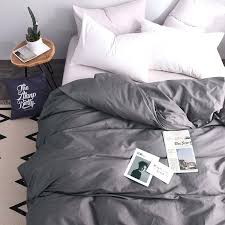 duvet cover grey twin bedding king size for boys solid 1 home decor light xl