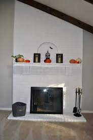 painting a fireplace insert ideas