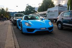 porsche 918 spyder blue. porsche 918 spyder blue