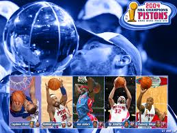 Detroit Pistons NBA Champions 2004 by ...