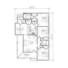 Warren II Folk Victorian Floor Plan   TightLines DesignsWarren II floor plan