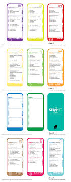 cleaning checklist cleaning checklist free printable