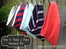 How To Make A Baby Bandana Bib Look At What I Made
