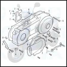 chinese parts pro gy6 50cc street scooter engine diagram