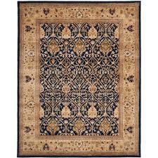 safavieh persian legend blue gold 6 ft x 9 ft area rug