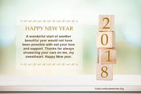 Happy New Year Beautiful Quotes Best of 24 Happy New Year 24 Greeting Cards ECard Messages For Her Him