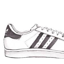 adidas shoes drawing. pin gym-shoes clipart adidas shoe #4 shoes drawing e