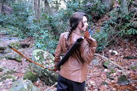 katniss hunting back by lady skywalker on  katniss hunting back by lady skywalker