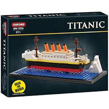 com oxford mini titanic building block brick kit bm by com oxford mini titanic building block brick kit bm3524 by vipzon toys games