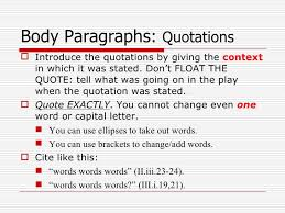 One Word Quotes Simple 48 P Essay Overview Power Point 48 R And J