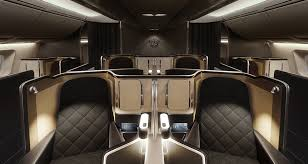 luxury plane interiors of the new british airways dreamliner luxdeco com