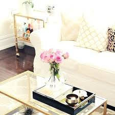 How To Decorate A Coffee Table Tray coffee table centerpieces internetukraine 27