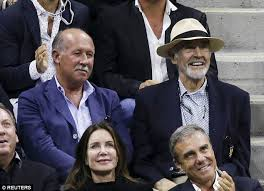 ex james bond sean connery 85 makes a rare public appearance at he s a sport sir sean connery was one of the many famous faces at the