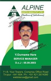 company id card templates employee id card best marketing company id card template