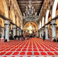 مساكم سعد من داخل المسجد الاقصى..