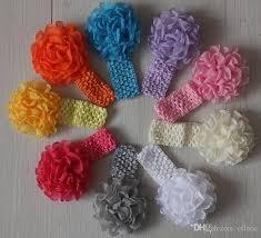 Crochet Flower Pattern For Headband Stunning 48cm Handmade Knit Crochet Flower Headband For GirlsKnitted