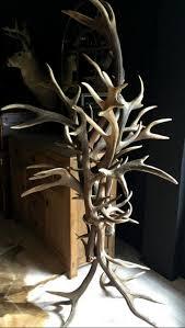 How To Make A Deer Antler Coat Rack Interesting Coat Rack Made Of Heavy Red Deer Antlers We Can Make This Coat Rack
