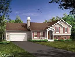 split foyer house plans. HWEPL06258 Split Foyer House Plans