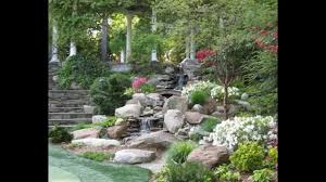 Small Picture Creative Small garden waterfall design YouTube