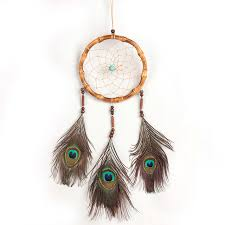 Purchase Dream Catchers Cheap Dream Catcher with feathers wall or car hanging decoration 30