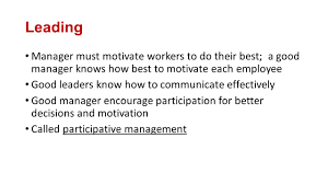 how management functions planning setting realistic goals for a 4 leading