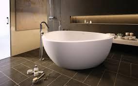 aquatica trinity m wht freestanding light weight stone bathtub fine matte