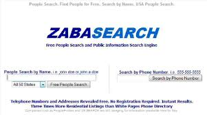 How To Remove Personal Information From Zabasearch It