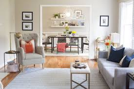 Modern Traditional Living Room Styling A Modern Traditional Living Room Design Post Interiors