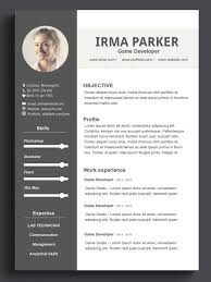 Resume Template On Word Custom Resume Template Word Resume Template CV Template 27