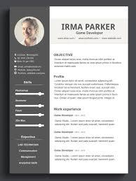 Resume Template On Word Custom Resume Template Word Resume Template CV Template 27