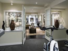 Contemporary Design Ideas 22 finished basement contemporary design ideas 9