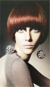 60s womens hairstyles 1960 s mod hair makeup round bowl cut