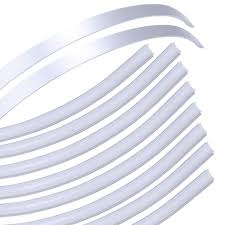 Light Diffusing Foam Muzata Bendable Led Channel With Milky White Cover Lens Slim Silver Aluminum Extrusion Profile Housing Diffuser Track For Strip Tape Light 10pack