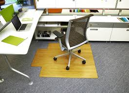 bamboo chair mats for carpet. Amazon.com: Anji Mountain Bamboo Chairmat \u0026 Rug Co. Deluxe Roll-Up Chairmat, 44-Inch-by-52-Inch, 8mm Thick, With Lip, Natural: Kitchen Dining Chair Mats For Carpet