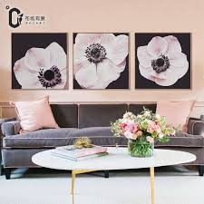 buzart pink flowers chinese modern style pictures for living room large canvas wall art painting no on canvas wall art pink flowers with buzart pink flowers chinese modern style pictures for living room