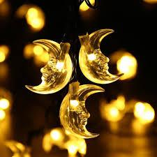luckled original moon solar string lights