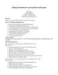 Collection Of Solutions College Graduate Resume Samples Unique