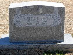 Mattie Elnora Smith (1864-1958) - Find A Grave Memorial
