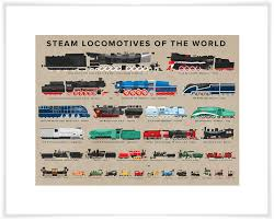 art print on oopsy daisy transportation wall art with steam locomotives of the world transportation canvas wall art