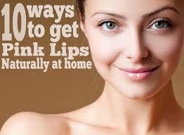 how to get pale lips without makeup