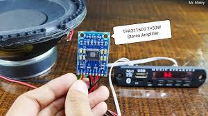 <b>TPA3116D2</b> 50W + 50W <b>Stereo</b> Amplifier | Bluetooth <b>Stereo</b> ...